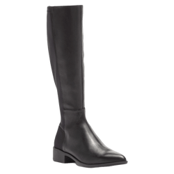 Steve Madden Leather Pointed Toe Boots
