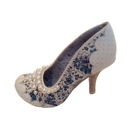 Iconic By Irregular Choice Bejewelled Heels - Shoe Bank