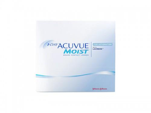 J&J Acuvue 1 Day Moist for Astigmatism 90 PK