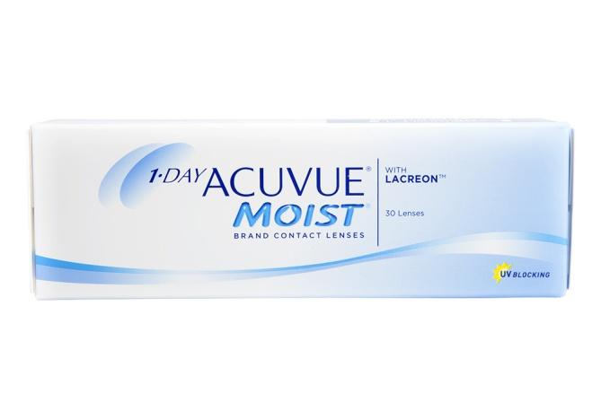 J&J Acuvue Moist 1 Day 30 Pack