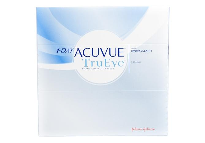 J&J 1 Day Acuvue Trueye 90 Pack