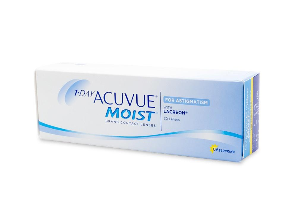 Acuvue 1 DAY Acuvue Moist for Astigmatism 30 Pack