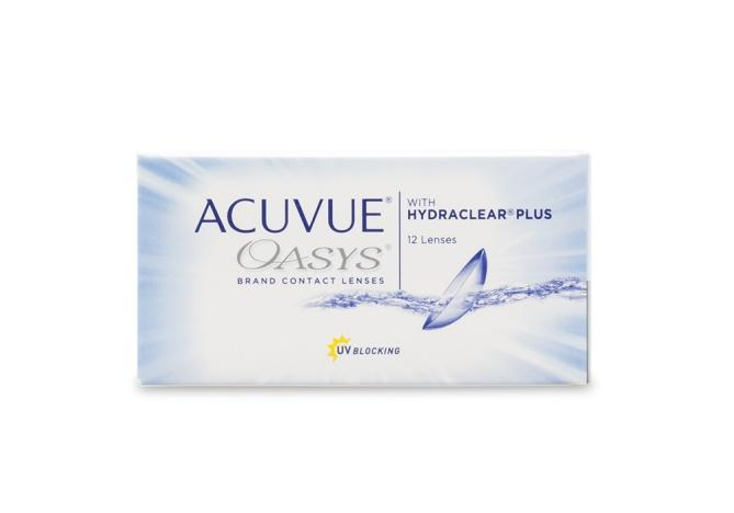 Acuvue Oasys with Hydraclear Plus 12 pack