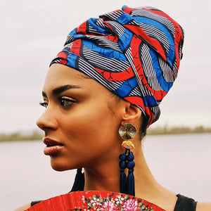 Queen Headwrap (Dreamy Sky)