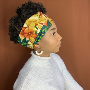 Queen Headwrap (Autumn Floral)