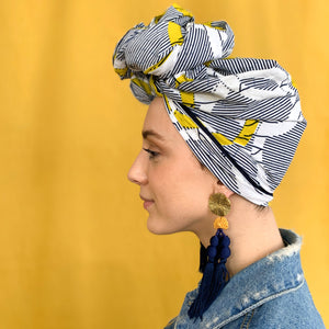 Queen Headwrap (Striped)
