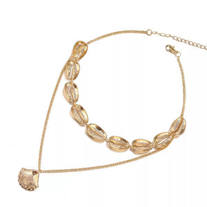 Necklace Gold Cauri