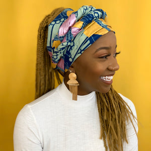 Queen Headwrap (Golden)