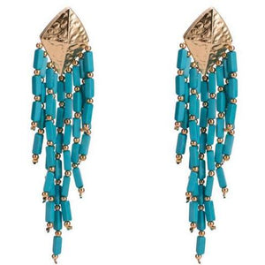 Long Colorful Earrings