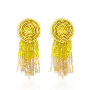 Beads Statement  Earrings