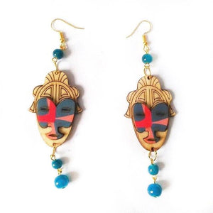 Mask drop Earrings