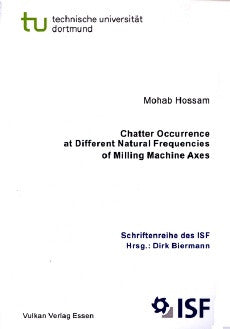 Chatter Occurrence at Different Natural Frequencies of Milling Machine Axes
