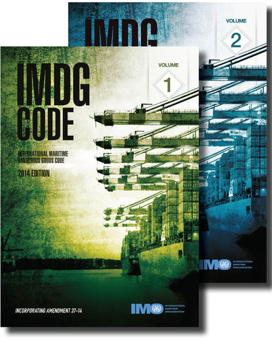 IMDG Code, 2014 Edition 2 volumes & Supplement