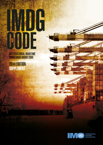 IMDG Code Supplement, 2014