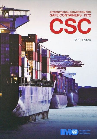 CSC: International Convention for Safe Containers, 1972 (2014 edition)