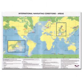International Navigating Conditions Area Limits Map, 11th Edition