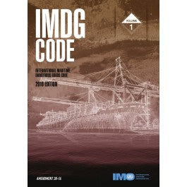 IMDG Code: International Maritime Dangerous Goods Code, 2016 Edition (Amendment 38-16) 2 Volumes (IK200E)