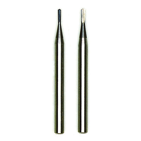 "Tungsten carbide spear drills 2 pcs. (Ø 1/64"" + 1/32"")"