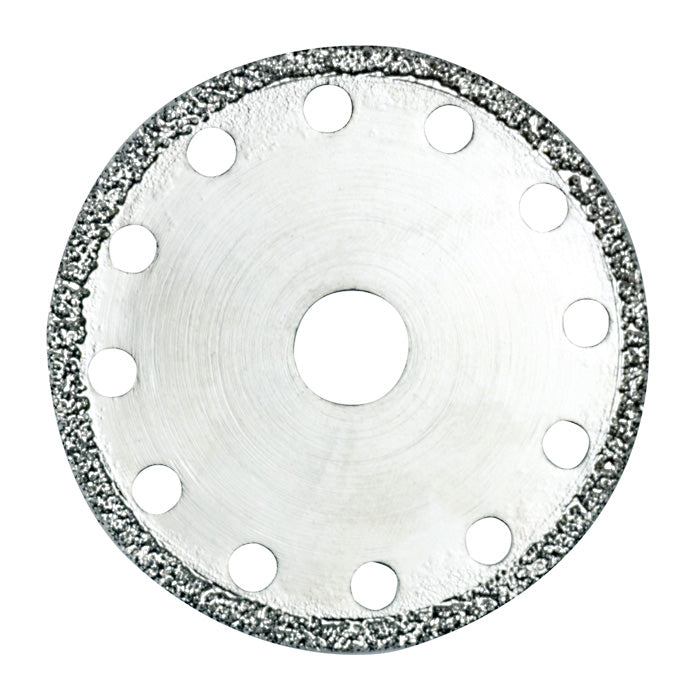 Diamond-coated cutting disc