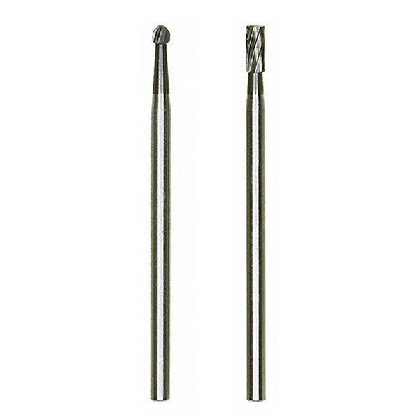 Set of Tungsten carbide cutters, 2 pcs. (one sphere, one cylinder)