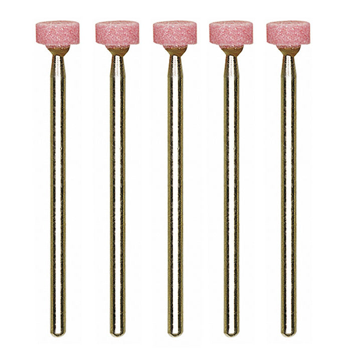 Aluminum-oxide mounted points wheel, 5 pcs.