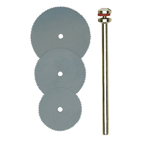 Set of metal (spring steel) cut-off blades 3 pcs.