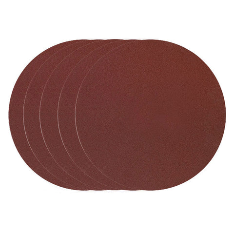 "Adhesive sanding disc for TG 250/E, 9 27/32"" Diameter (250mm), 80 grit, 5 pcs."