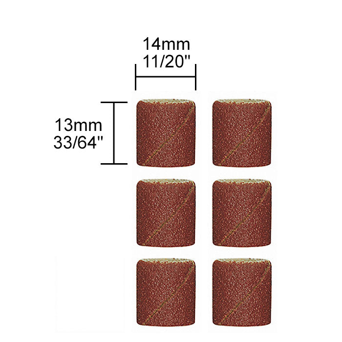 Proxxon 28979 Replacement Sanding Bands 10-Piece