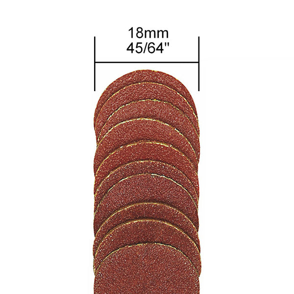 Replacement sanding discs 10 each 120 and 150 grit (for 28982)