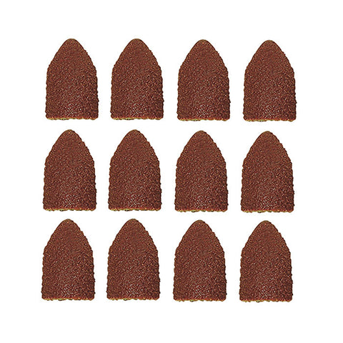 Replacement sanding caps, 10 pcs., 5 each 80 and 150 grit