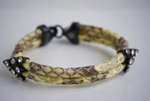 Phil Nicker python bracelet