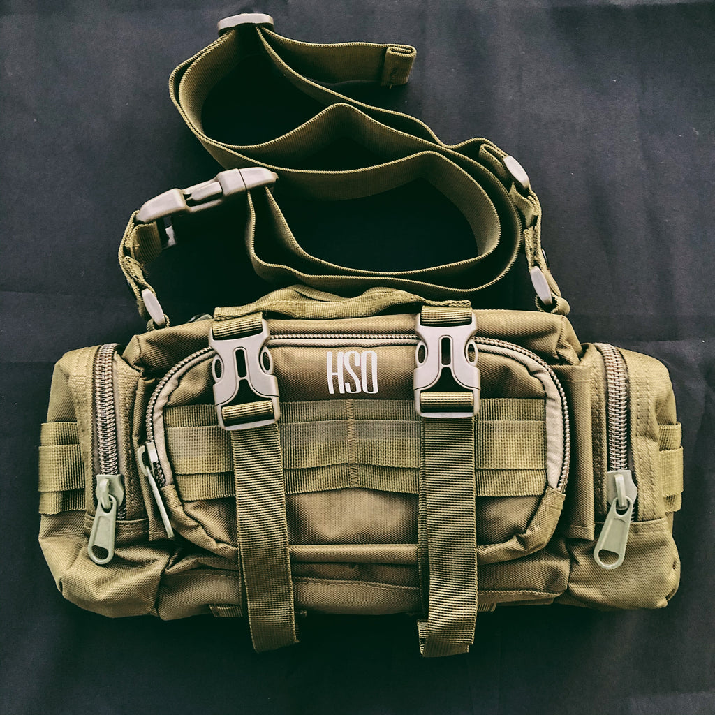 HSO STRAP BAG - ARMY GREEN
