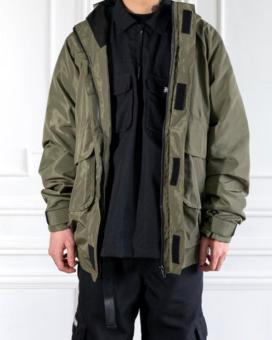 LIGHTWEIGHT PARKA - OLIVE GREEN