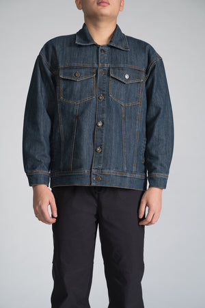 DENIM TRUCKER JACKET - CLASSIC