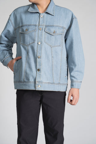 DENIM TRUCKER JACKET - LIGHT