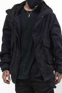 PARKA JACKET - BLACK