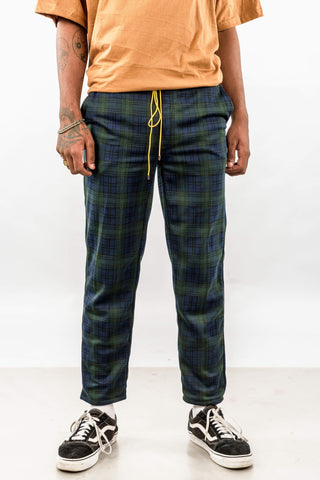 PLAID EASY PANTS