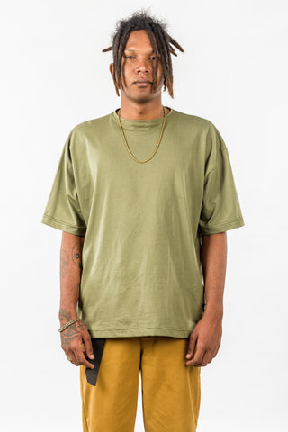 OVERSIZED TEE - OLIVE GREEN