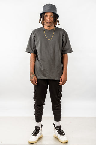 OVERSIZED TEE - DARK GRAY