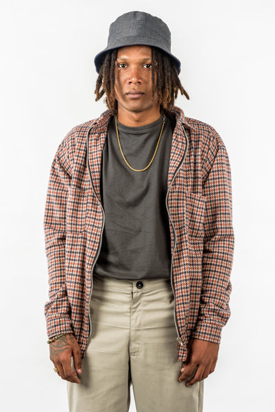 PLAID FLANNEL ZIP