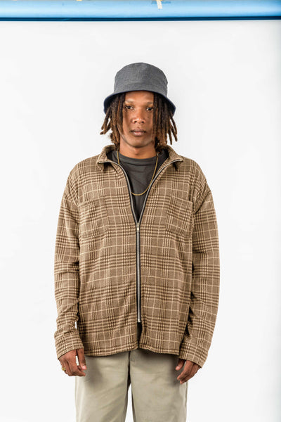 PLAID FLANNEL ZIP (BUY 1 GET 1)