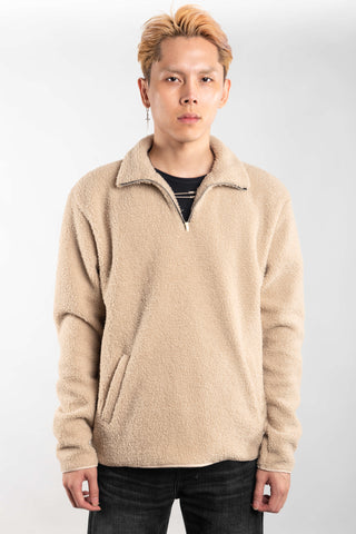 SHERPA JACKET - CREAM (BUY 1 GET 1)