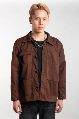 WORK JACKET - BROWN (BUY 1 GET 1)