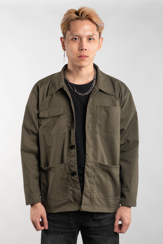 WORK JACKET - OLIVE (BUY 1 GET 1)