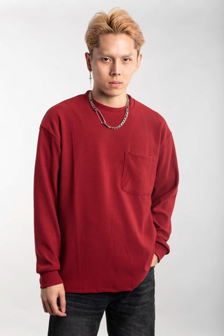 PLEATED CREWNECK (BUY 1 GET 1)