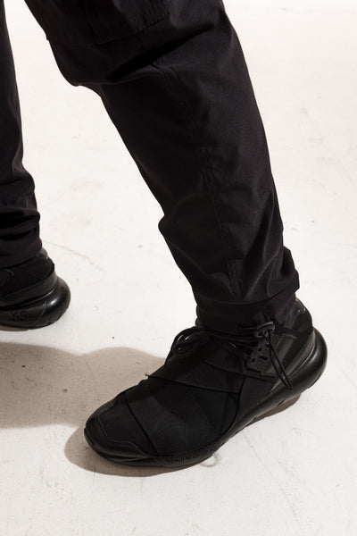 TECH CARGO PANTS (8 POCKETS) - BLACK