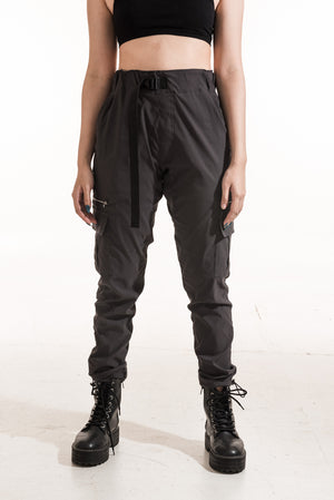 TECH CARGO PANTS (8 POCKETS) - CHARCOAL