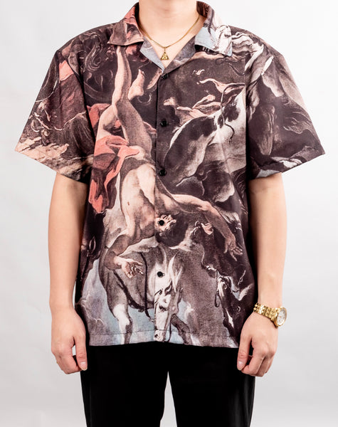 SHORT-SLEEVED PRINTED SHIRT
