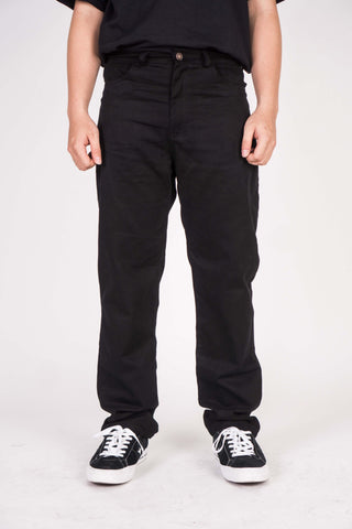 WORK PANTS IN BLACK