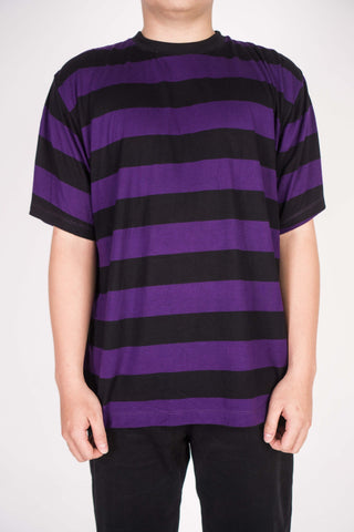 CLASSIC STRIPE IN BLACK/VIOLET